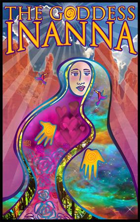 Goddess Innana Logo Design
